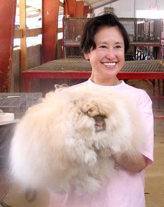 Betty Chu, English Angora Breeder