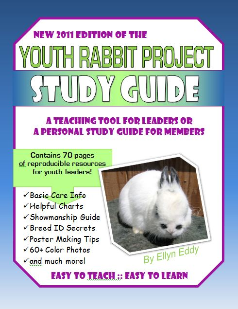 Guide to showing 4-H rabbits and much more