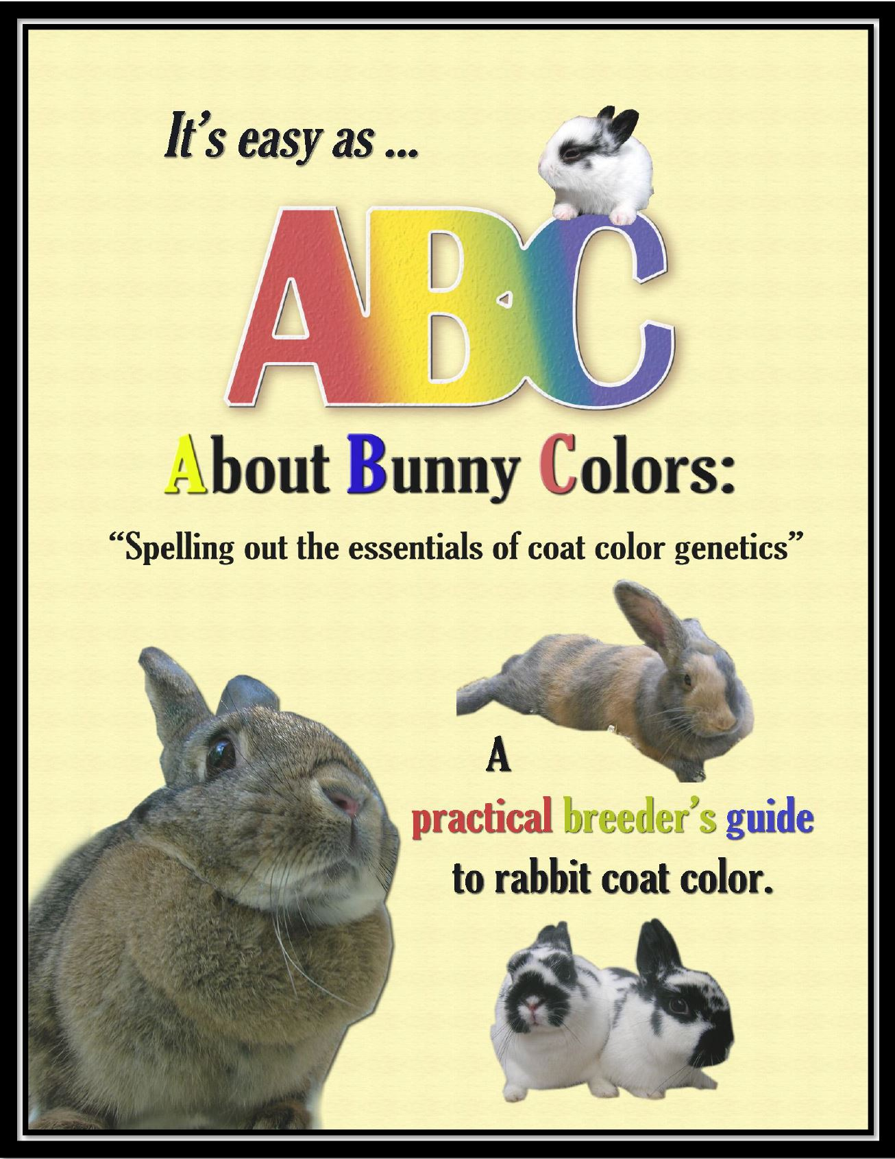 Rabbit Color Genetics Book